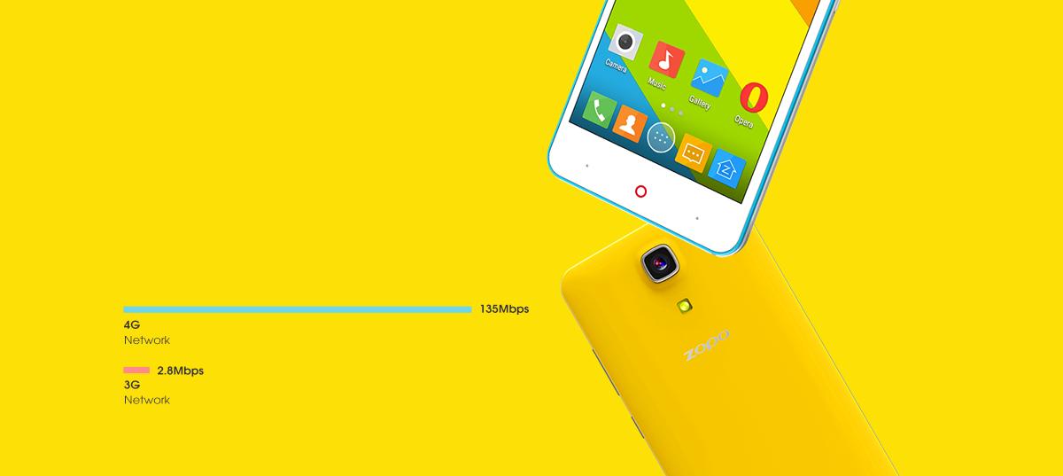 ZOPO color e zp350 4G LTE + Dual SIM
