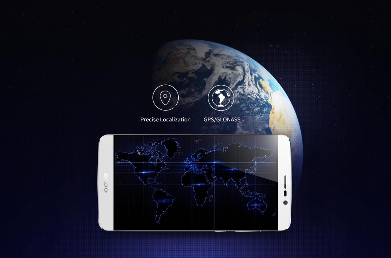 ZOPO speed 7 GPS/GLONASS